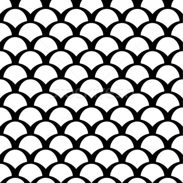 Black and white squama pattern Stock photo © jet