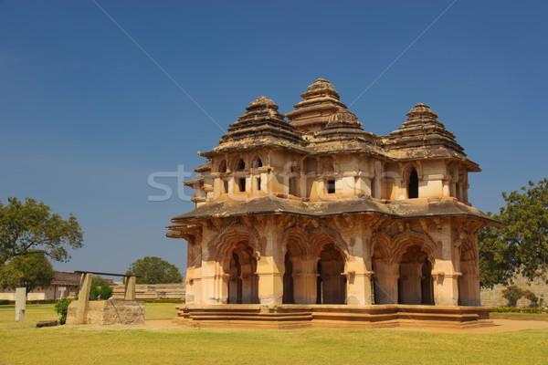 Lotus Mahal in Hampi, India Stock photo © jet
