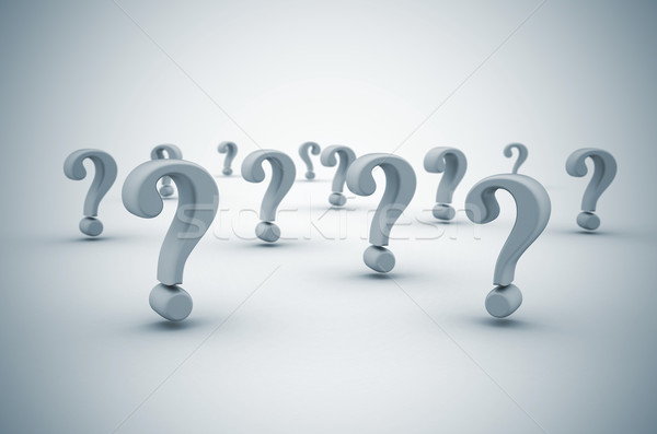 Stock photo: Question mark background