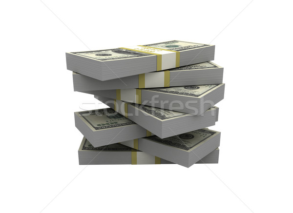 Money stack Stock photo © jezper