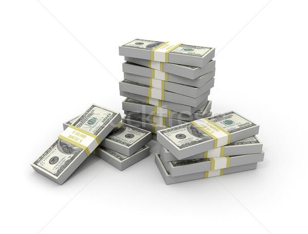 Dinheiro negócio grupo banco sucesso Foto stock © jezper