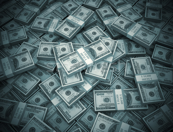 Money background big pile of cash  Stock photo © jezper