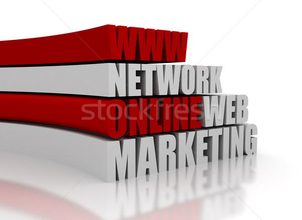 Projektu technologii tle usługi rynku Zdjęcia stock © jezper