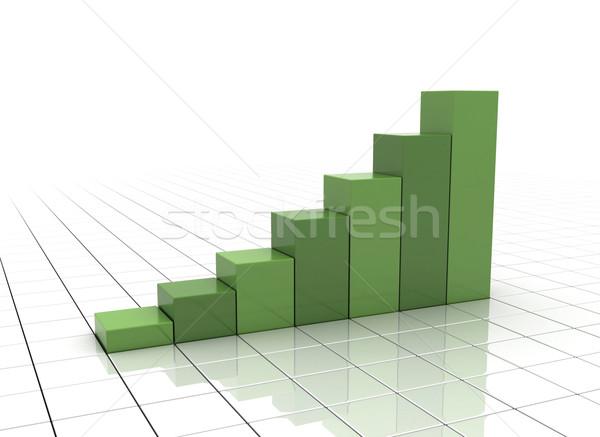 Business Graph Stock photo © jezper