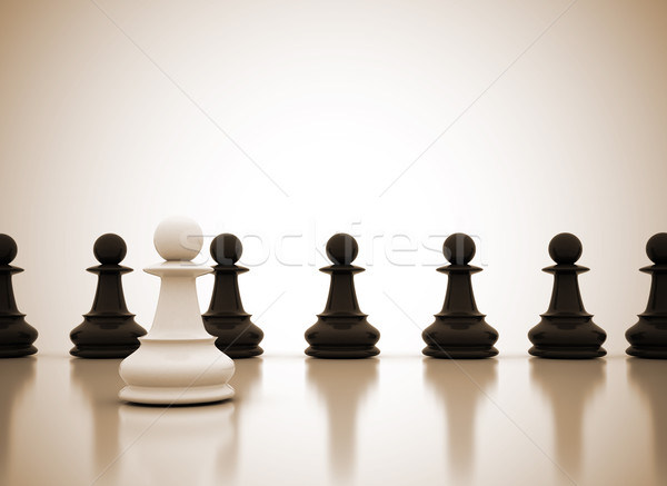 Leadership concept  Stock photo © jezper