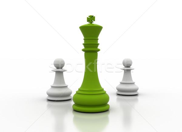 Zöld irányítás üzlet szín erő siker Stock fotó © jezper