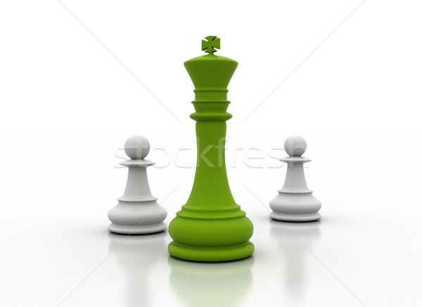 green leadership Stock photo © jezper