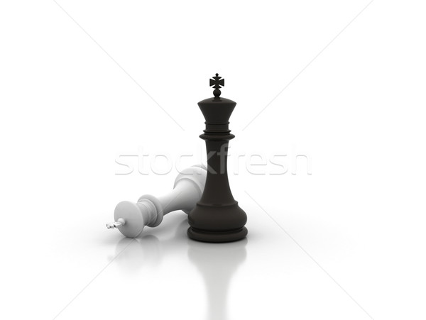 Chess concept  Stock photo © jezper