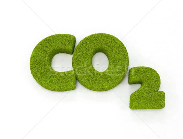 Illustration isoliert weiß Erde grünen Energie Stock foto © jezper