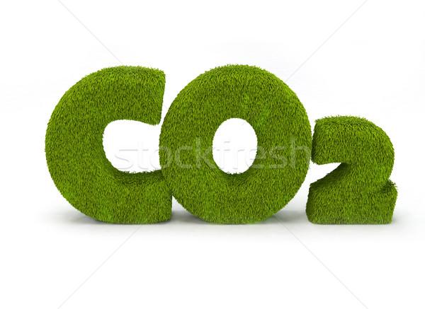 Ilustración aislado blanco tierra verde energía Foto stock © jezper