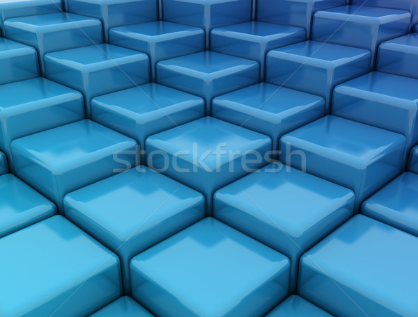 Abstract cube background Stock photo © jezper