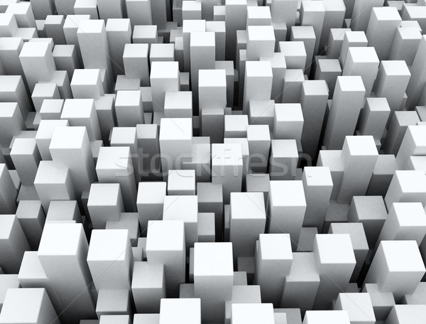 Abstract background of 3d cubes Stock photo © jezper