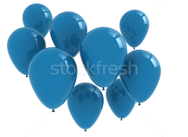 Blue Balloons Stock photo © jezper