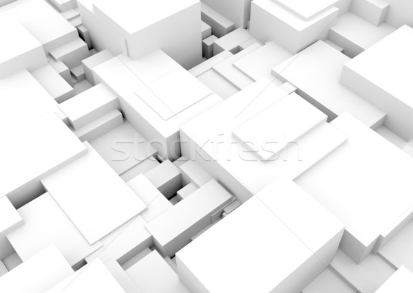3d cubes background  Stock photo © jezper