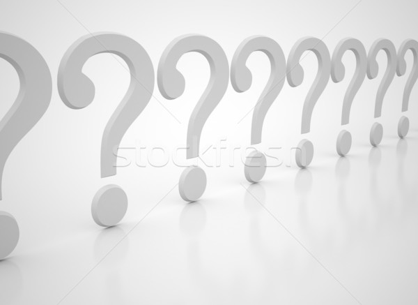 Question marks  Stock photo © jezper