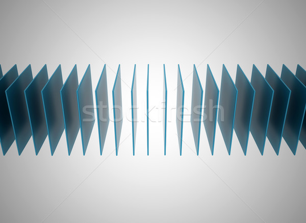 Abstract blue square background  Stock photo © jezper