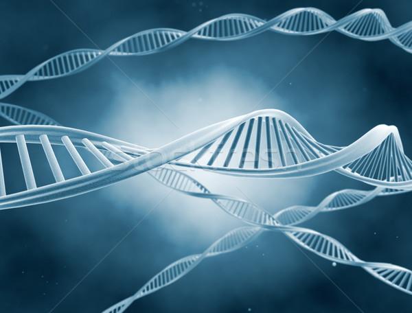 Zdjęcia stock: DNA · nauki · ilustracja · technologii · zdrowia · tle