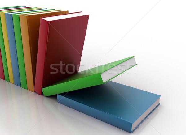 Books  Stock photo © jezper