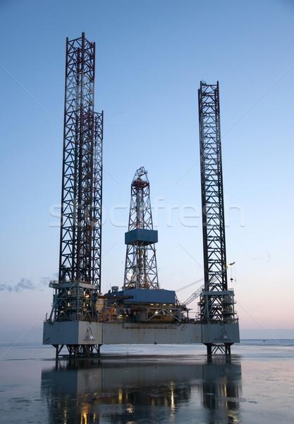 Oil rig  Stock photo © jezper