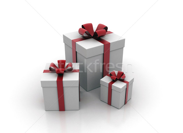 Gift boxes Stock photo © jezper
