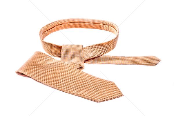Tie on White Stock photo © JFJacobsz