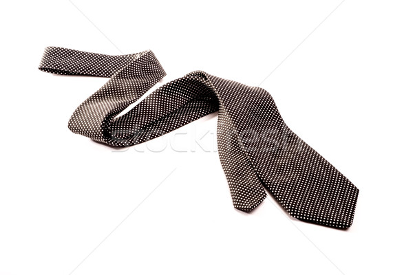 Black and white tie on white background Stock photo © JFJacobsz