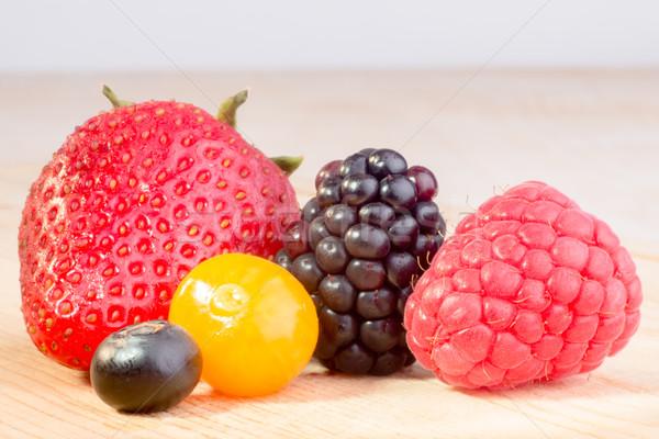 Five Berries Stock photo © JFJacobsz