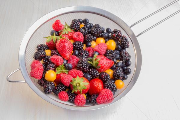 Mixed Berries Stock photo © JFJacobsz