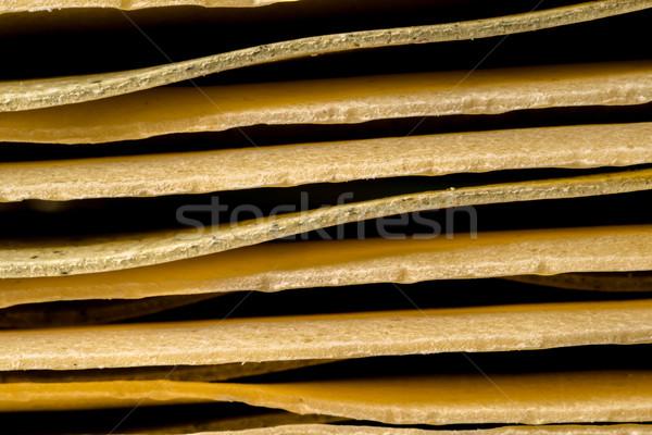 Lasagne up close Stock photo © JFJacobsz