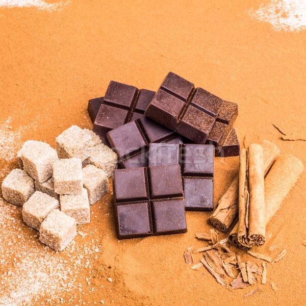 Artisan Chocolate Stock photo © JFJacobsz