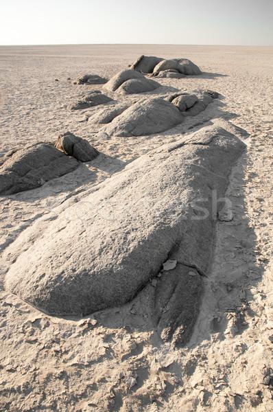 Granito areia ilha rápido espaço sal Foto stock © JFJacobsz