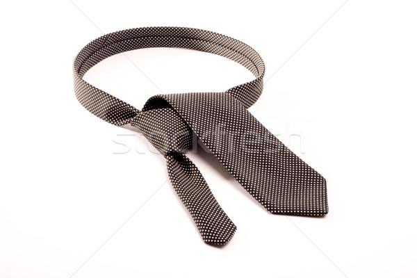 Foto stock: Blanco · negro · empate · negro · blanco · doblado