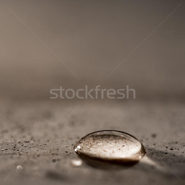 Waterdrop Stock photo © JFJacobsz