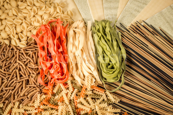 Stock photo: Mixded Pasta