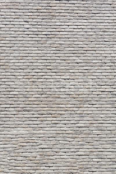 Blanco mármol pared de ladrillo textura pared fondo Foto stock © jiaking1