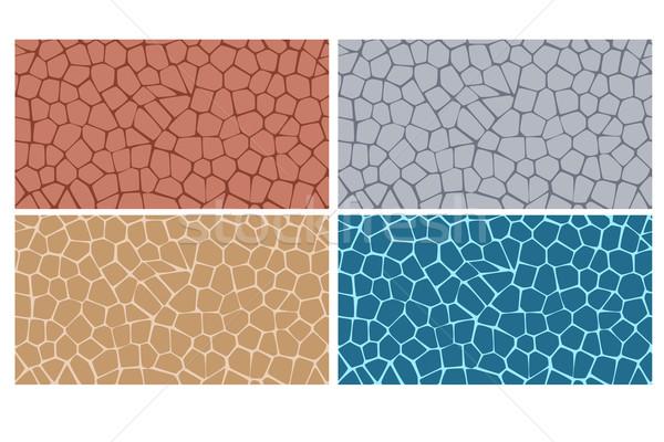Modern pavement texture seamless