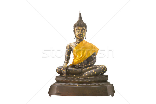 Thai Buddha statue isolated on white Stock photo © jiaking1
