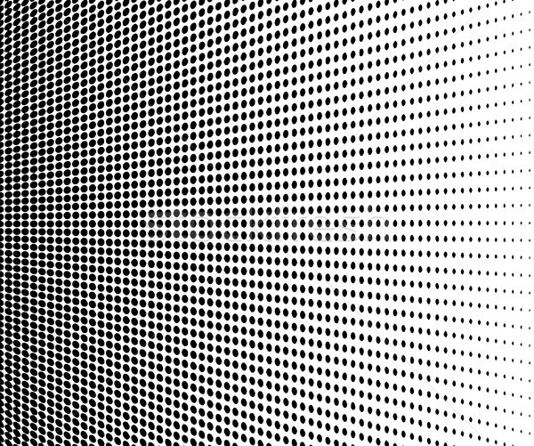Abstract halftone. Black dots on white background Stock photo © jiaking1