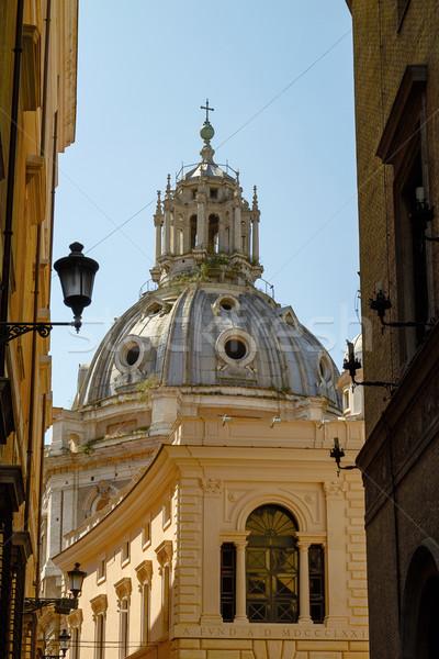 Церкви Рим Италия город улице Сток-фото © jirivondrous