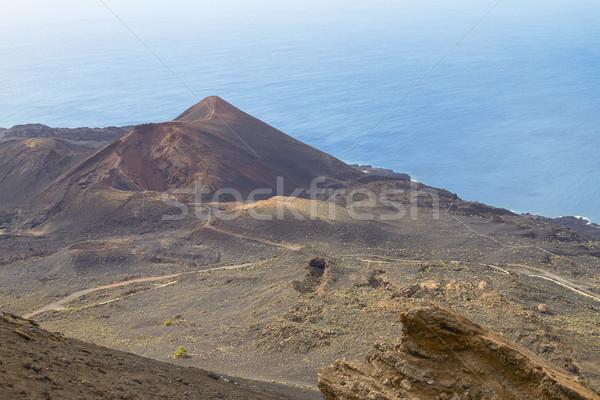 Volkanik ada manzara alan Stok fotoğraf © jirivondrous