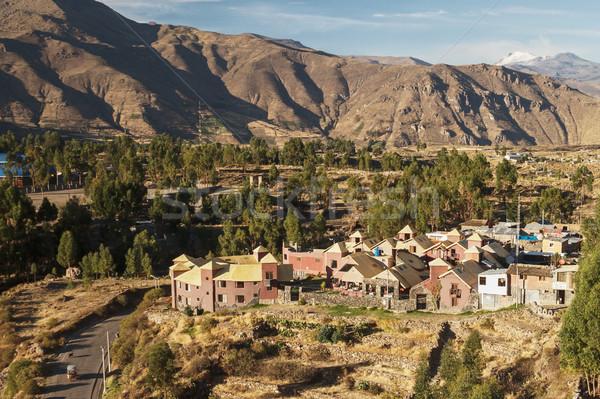 мнение города Перу горные путешествия отель Сток-фото © jirivondrous