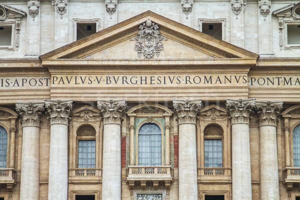 Сток-фото: Собор · Святого · Петра · основной · балкона · искусства · Церкви · архитектура