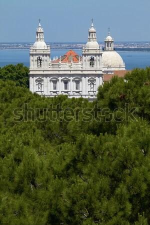 Church of Santa Engracia, Lisbon, Portugal Stock photo © jirivondrous