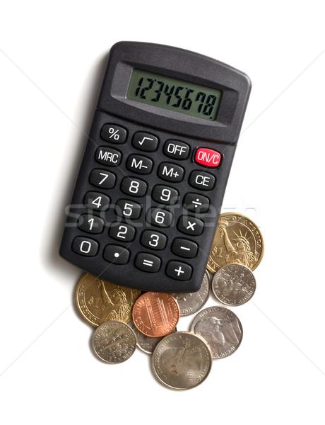 calculator and american currency Stock photo © jirkaejc