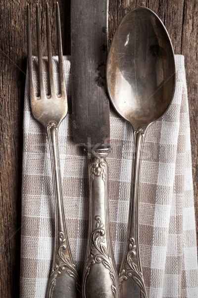 old cutlery Stock photo © jirkaejc