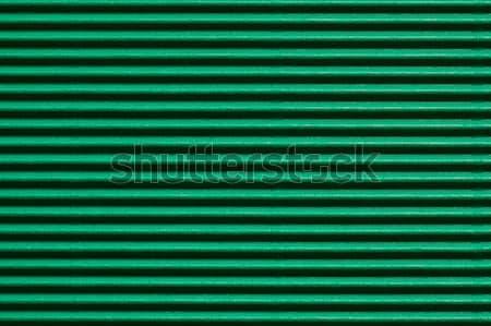 green corrugated cardboard Stock photo © jirkaejc