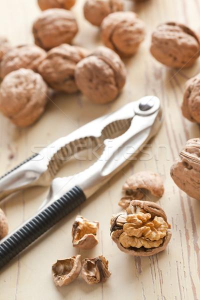 nutcracker and walnuts Stock photo © jirkaejc