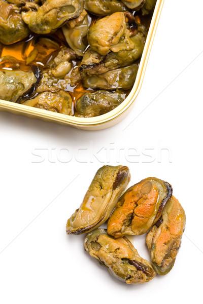 smoked mussels Stock photo © jirkaejc