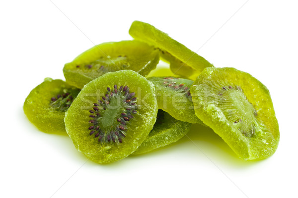 Confits kiwi fruits blanche fond groupe Photo stock © jirkaejc