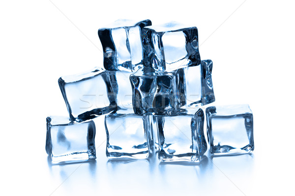 pile of many ice cubes Stock photo © jirkaejc
